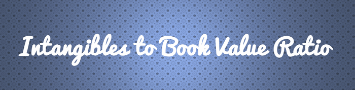 intangible book value ratio