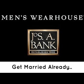 To Men's Wearhouse, Hurry Up and Marry Jos. A. Bank